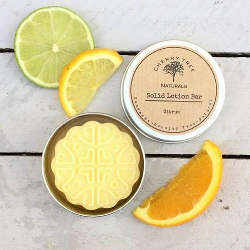 Solid Body Lotion Bar - Cherry Tree Naturals