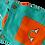 Thumbnail: Organic Cotton Dungarees - Rainbow Collection