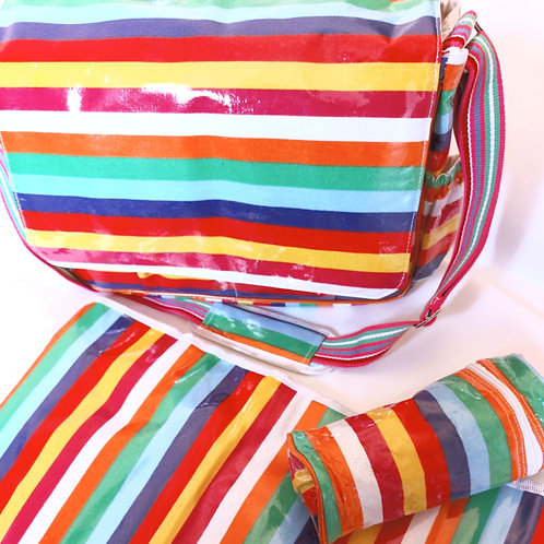 Large Changing Bag With Portable Changing Mat & Bottle Holder