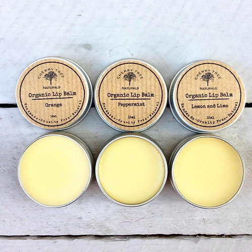 Luxury Organic Handmade Lip Balm - Cherry Tree Naturals