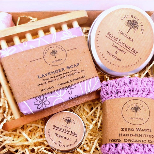 Luxury 5 Piece Boxed Gift Set - Cherry Tree Naturals