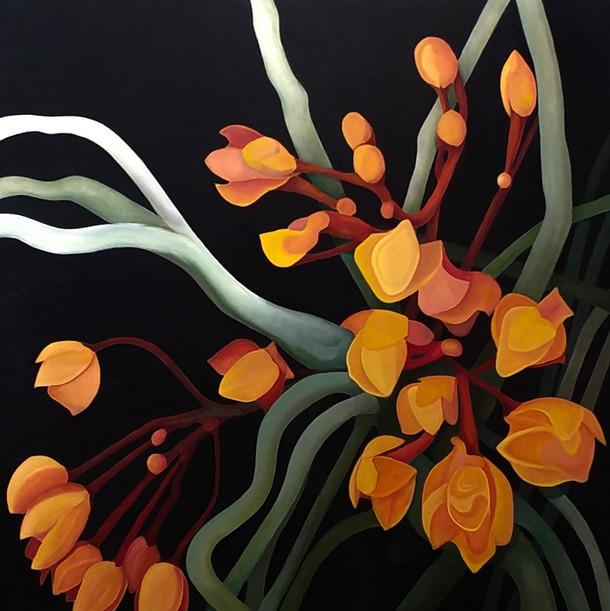 """""""Orange Orchids"""""""