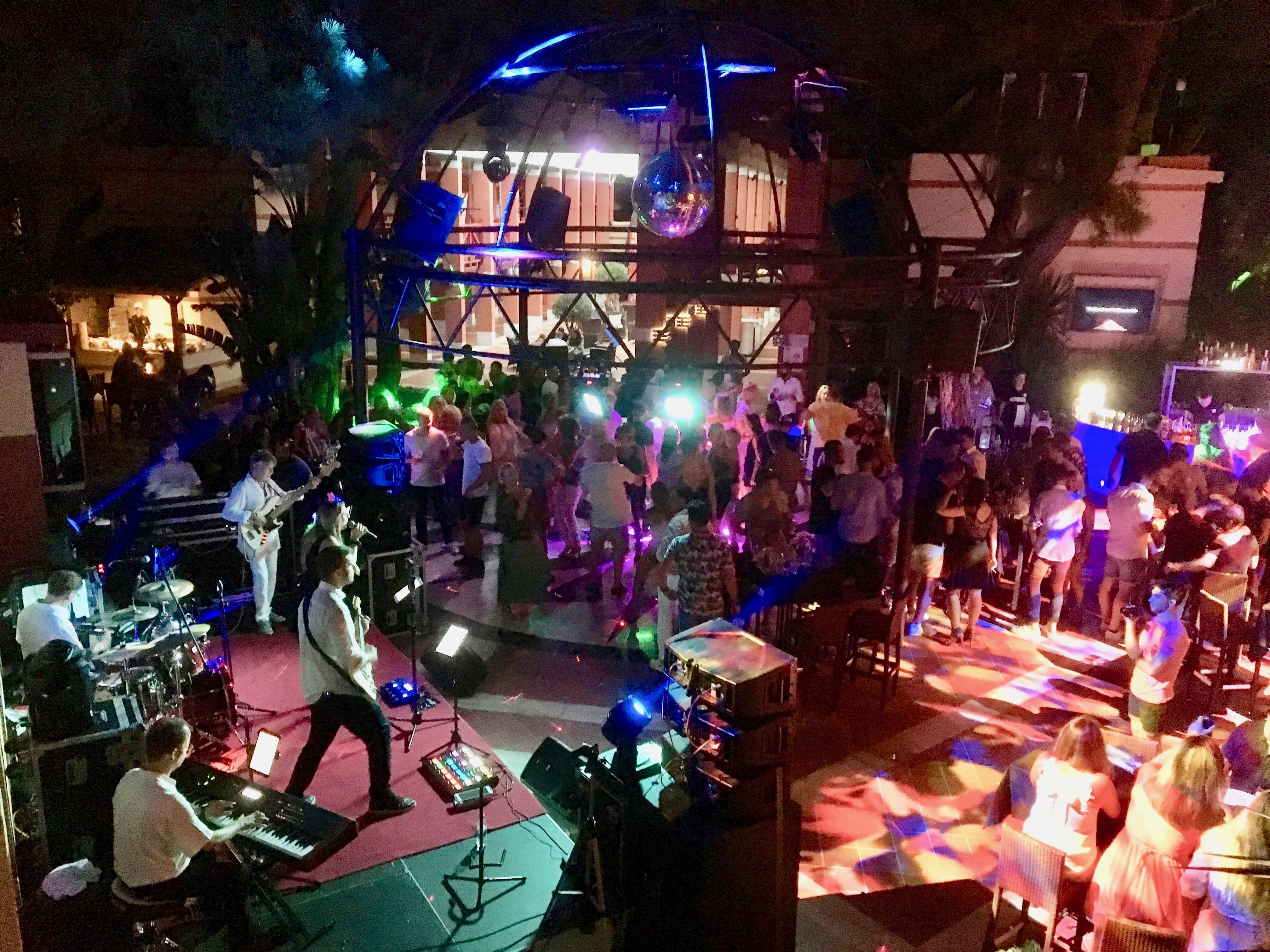Konzert im Robinson Club Camyuva