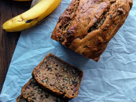 Perfect Banana Bread (vegan & sugar-free too!)