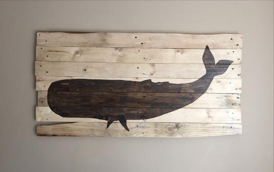 Coastal Whale Wall Art