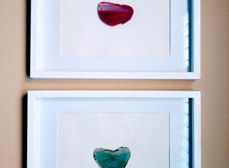 Framed Agate Slices