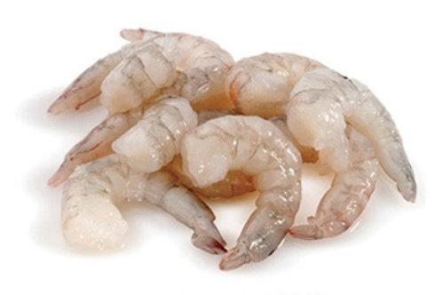 Shrimps 21/25 Peeled Deveined Tail Off (Medium plus) 1 Kg