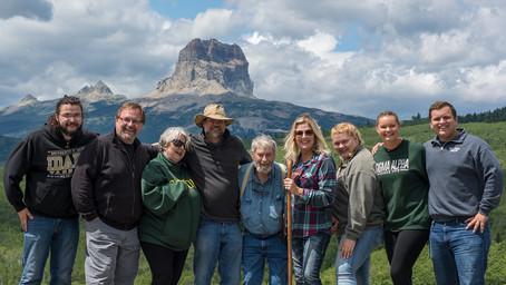 Chief Mountain shoot