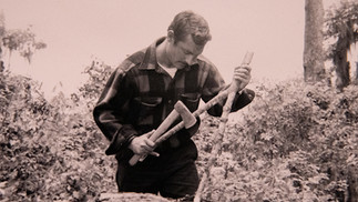 Jack McKey making tools