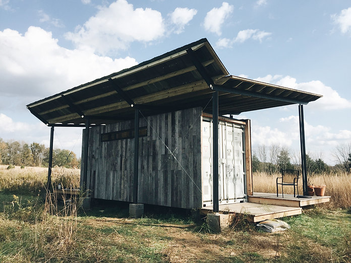Kamama Prairie Dwelling Shipping Container House