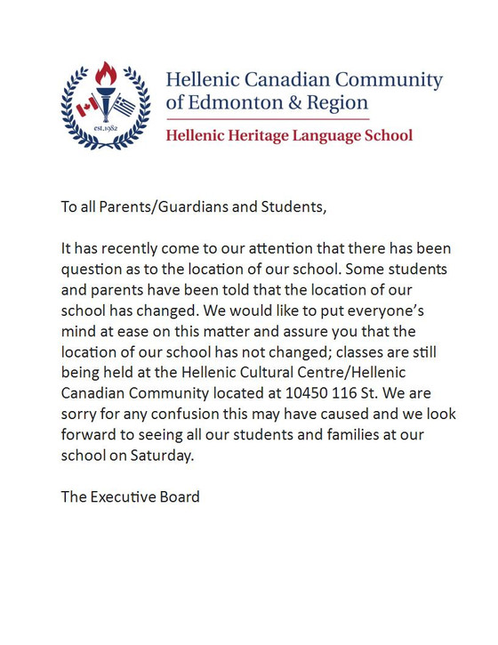 Attention all parents/guardians and students...