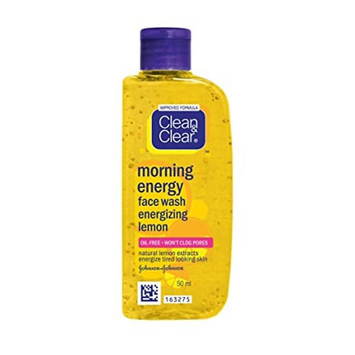 Clean & Clear Face Wash Lemon, 50 ml