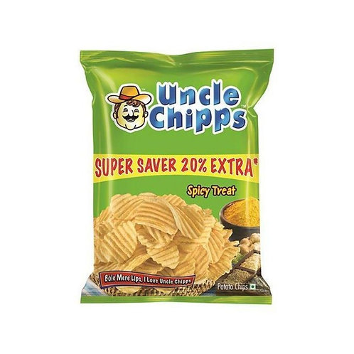 Uncle Chipps Spicy Treat Chips Pack of 2