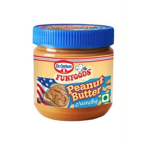 Fun Food Peanut Butter Crunchy, 340 g