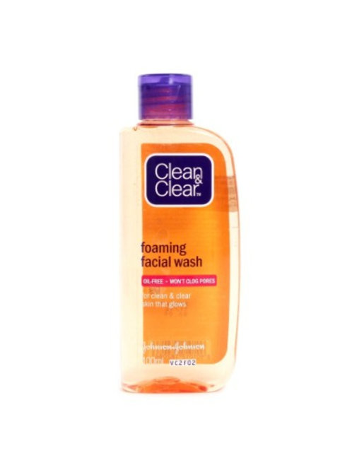 Clean & Clear Foaming Face Wash 100g