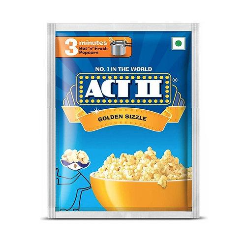ACT II Instant Popcorn Golden, 4 N (41 g Each)