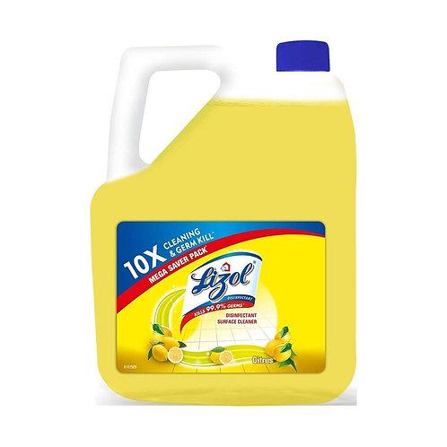 Lizol Disinfectant Citrus, 5 L