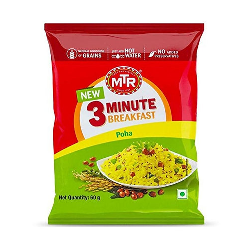 MTR Poha Pouch 60 g