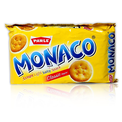 Parle Monaco Classic Salted Biscuits 66.7 g Pack Of 4
