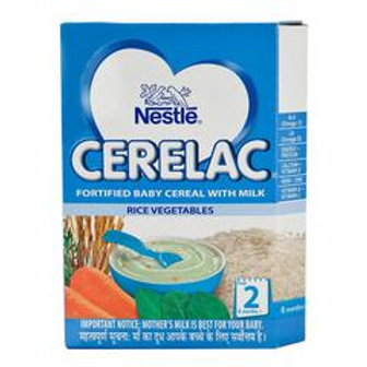 Cerelac Baby Food Rice Veg, Stage 2, 300 g