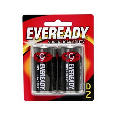 Eveready Battery Size D, 2 N