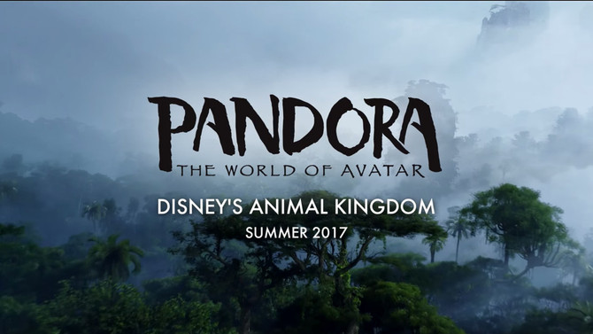 Pandora - The World of Avatar video from the land and inside the rides!