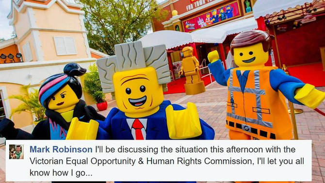 LEGO LAND NOT ALLOWING ADULTS INTO PARK!