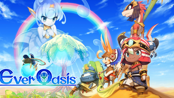 Ever Oasis:  Zelda meets Animal Crossing meets a magical, addictive fun time