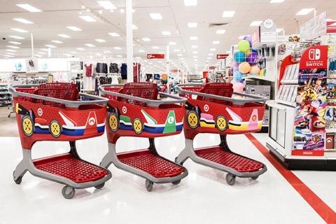 Real Mario KARTS at Target!  I want to be 5-years old again!