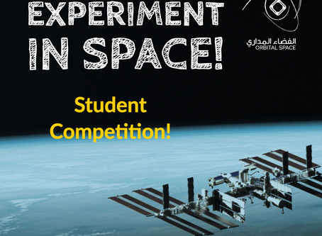 Experiment in Space! Competition Announced