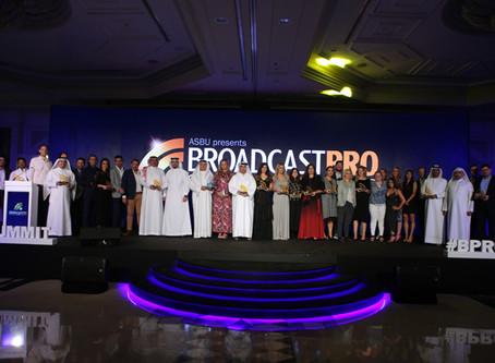 Celebrating innovation at the ASBU BroadcastPro Awards 2019 edition