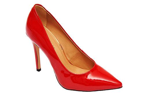 R.170 Sapato Scarpin Vermelho Verniz - Sapato bico fino - Christian Fischer