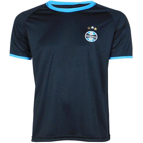 G605 Camisa Do Grêmio Masculina Preto Dry Camiseta Gremio Licenciado