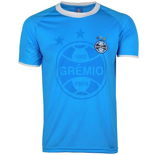 G604 Camisa Do Grêmio Masculina Azul Dry Camiseta Gremio Licenciado