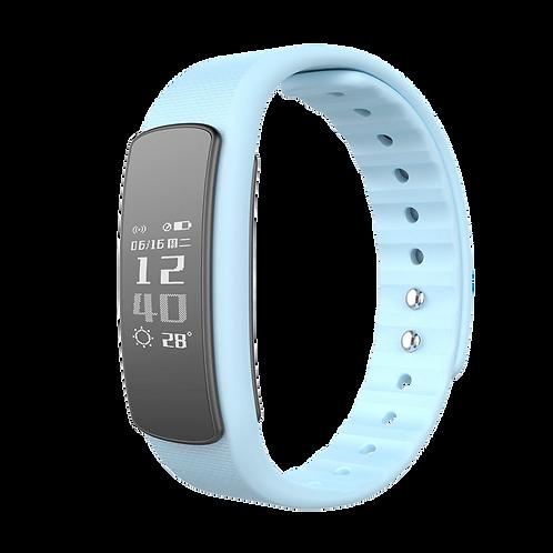 Smartband Pulseira Inteligente Iwown Fit I6 Hr Azul Monitor Batimento Cardíaco