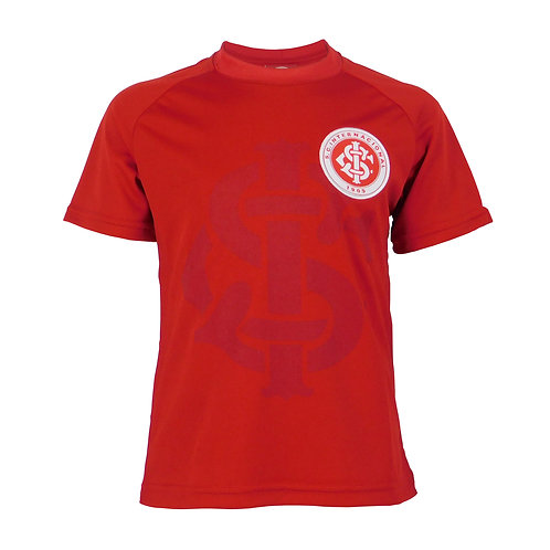 INT468i - Camisa Do Internacional Infantil Vermelho Dry Inter Licenciado
