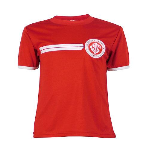 INT469i - Camisa do Internacional Infantil Vermelho Dry Licenciado