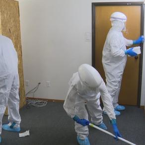 North Texas cleaning crews trained for biohazard response to coronavirus