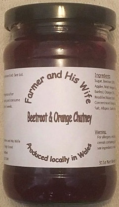 Beetroot and Orange Chutney
