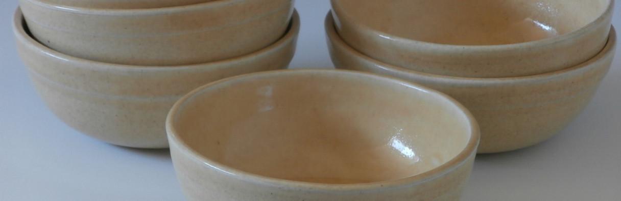 set of 6 oatmeal bowls