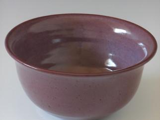 """9"""" flair rim purple bowl"""