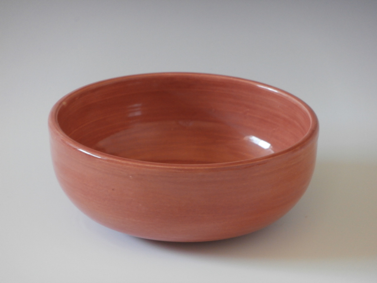 Apricot cereal bowl
