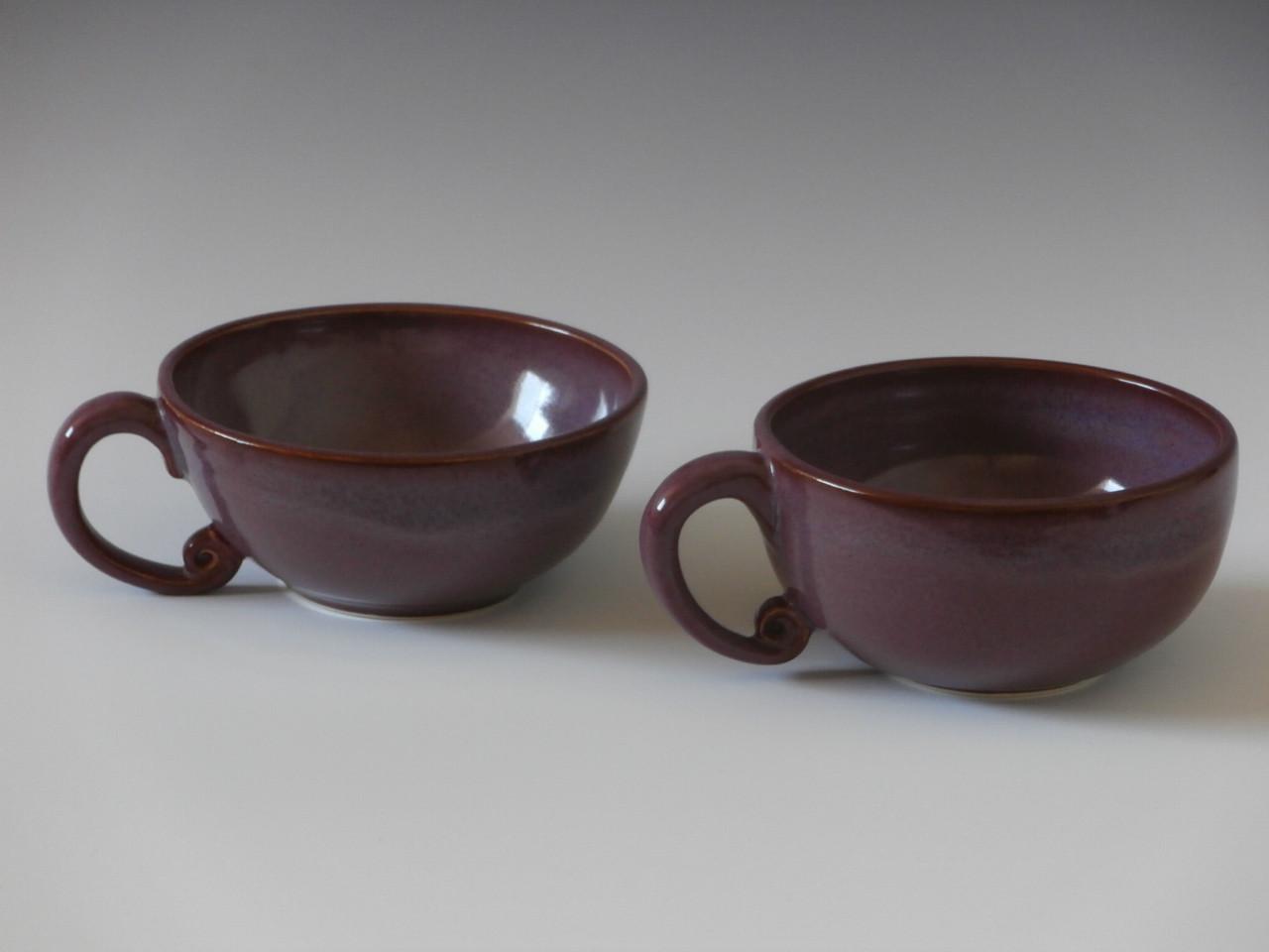 Plum soup bowls