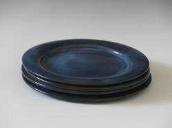 Navy blue dinner set