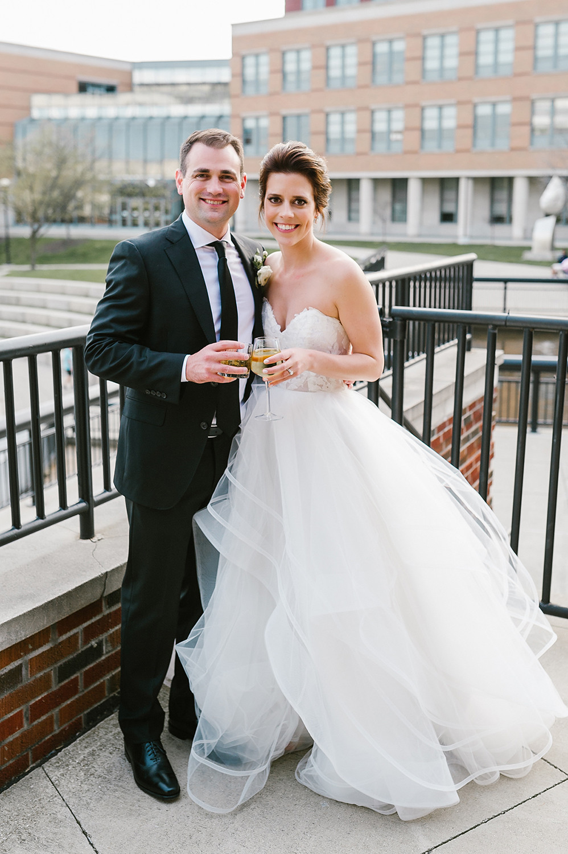 Abby & JR wedding day