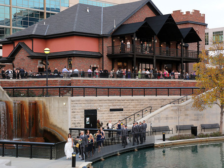 Fall Wedding on the Canal