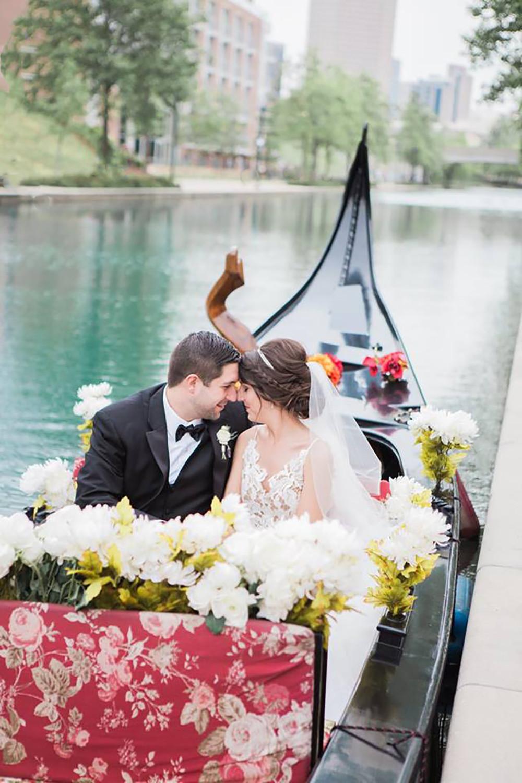 Gondola wedding reception venue indianapolis