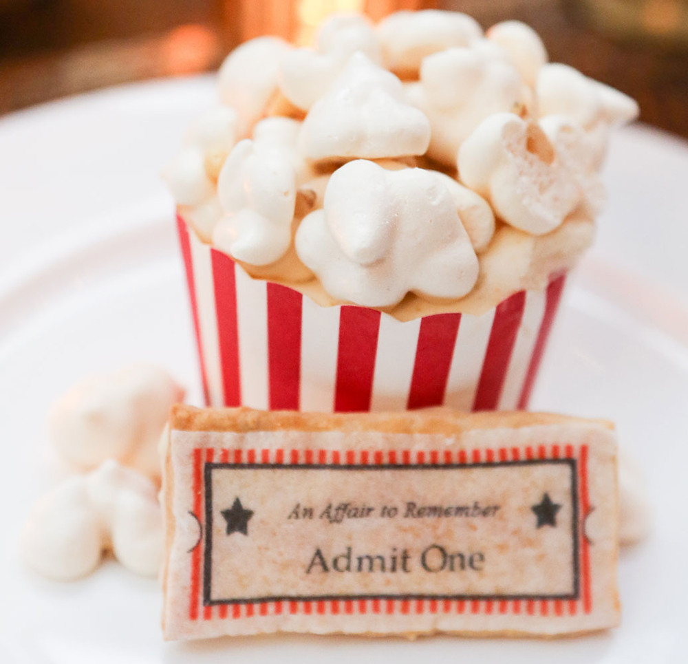 Popcorn Mousse Trifle