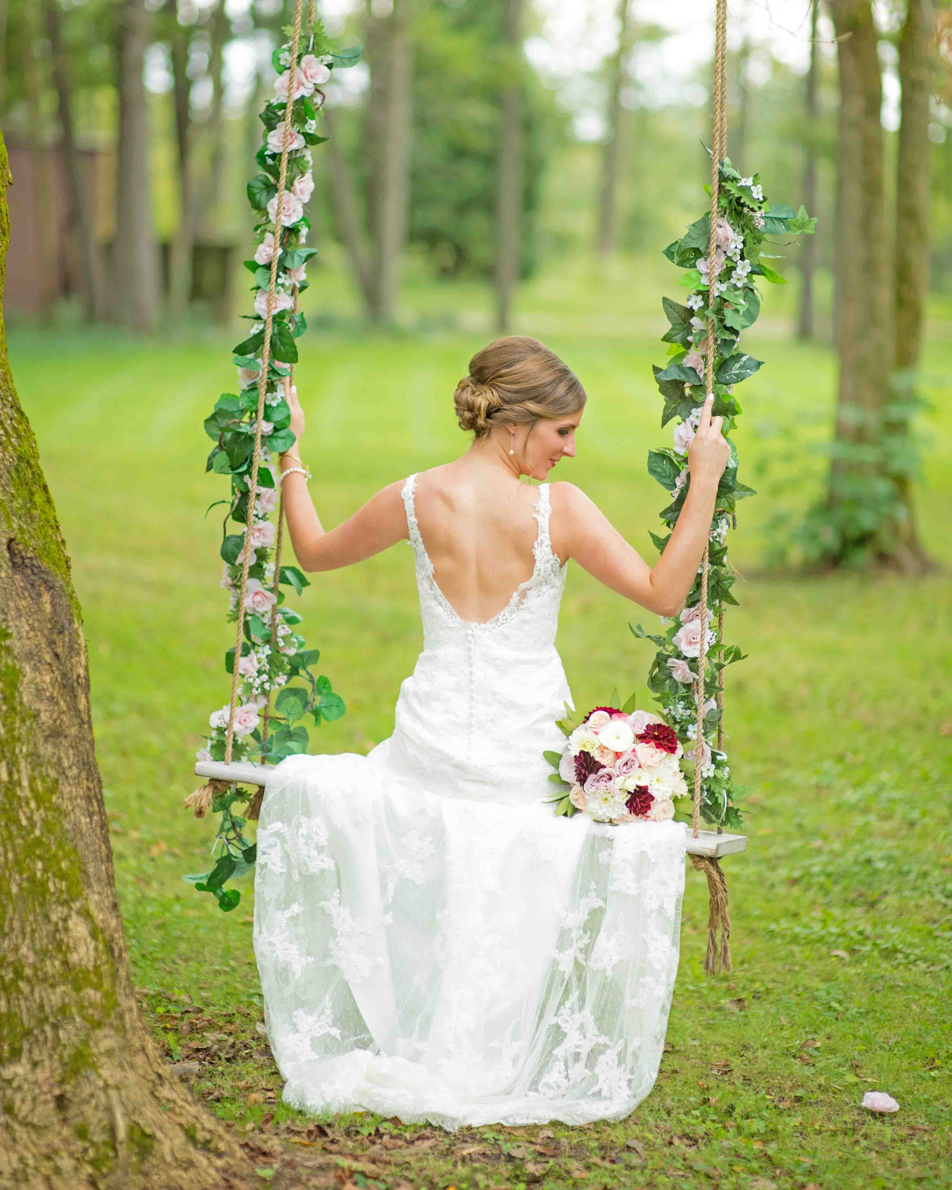 Outdoor Wedding Venue the Swing