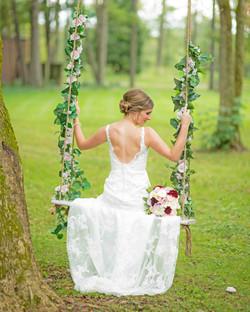 Outdoor Wedding Venue the Swing